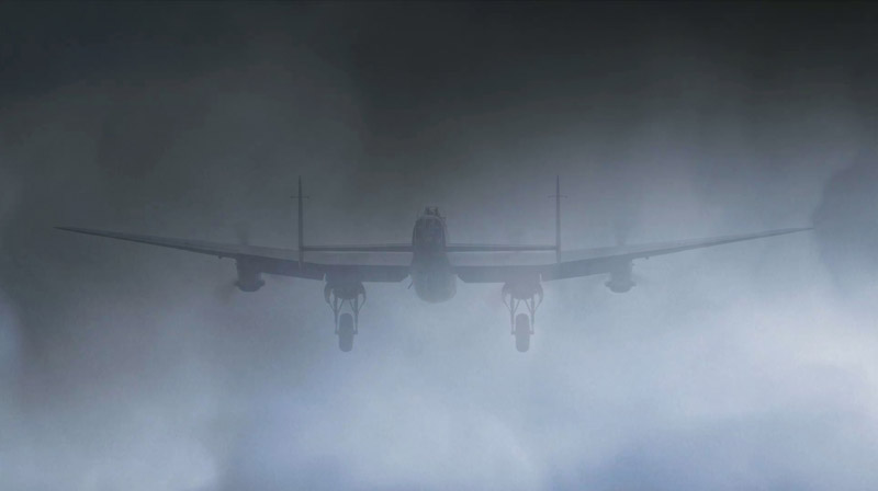 Lancaster and the 'Standard Beam Approach' to landing in thick fog and low cloud.