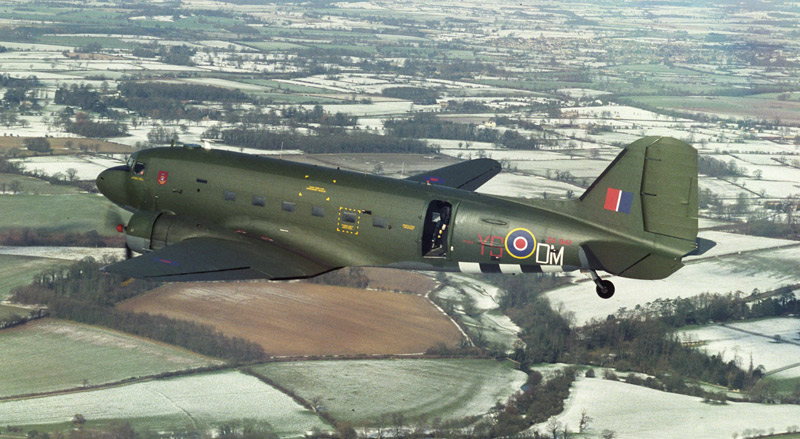 Dakota ZA947 with the BBMF