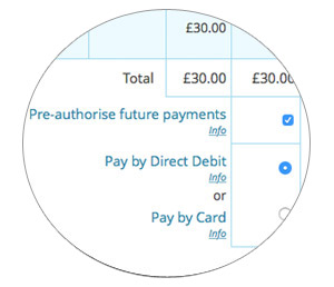 How to pay by direct debit