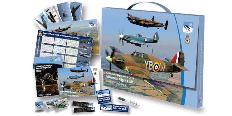 A BBMF Club gift pack makes a great Mother's Day present