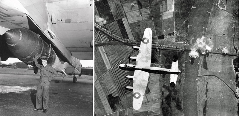 A 'Grand Slam' on a Lancaster B1 Special