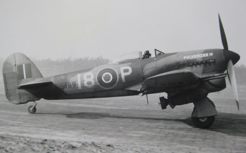 'Bombphoon' of 440 Sqn (RCAF) in 1945