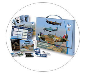 An RAF Memorial Flight Club membership pack makes a great birthday or Christmas present