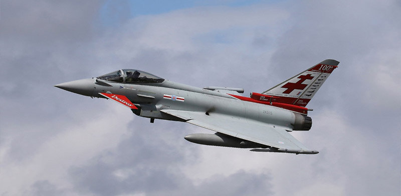Typhoon flying