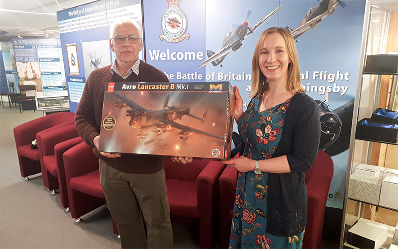 Winner of the 1/32 scale model of the Avro Lancaster