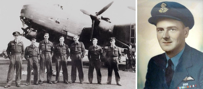 George Dunn and his 76 Sqn crew