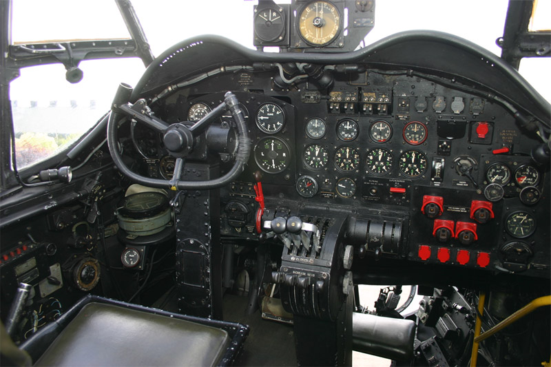 Inside Lancaster NX611 'Just Jane'