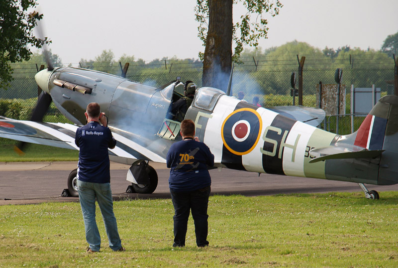 Experience day at the RAF Battle of Britain Memorial Flight