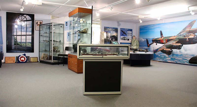 BBMF Visitor Centre displays