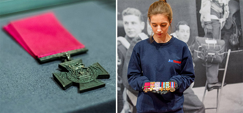 The Victoria Cross awarded to Wg Cdr Guy Gibson
