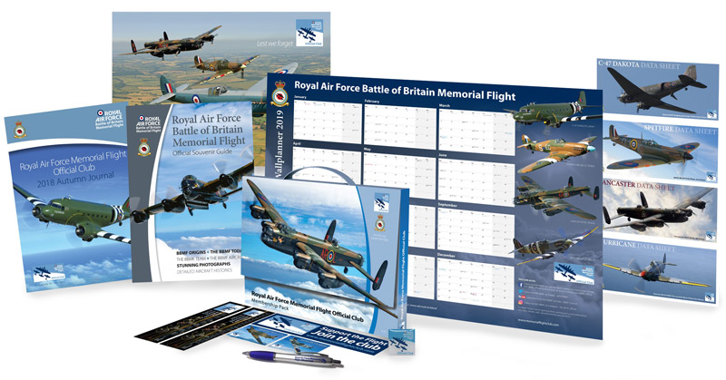 RAF Memorial Flight Club membership gift pack