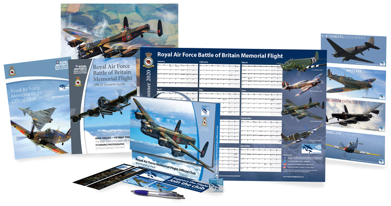BBMF Club pack contents