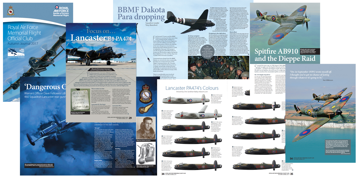 BBMF Autumn Journal 2017