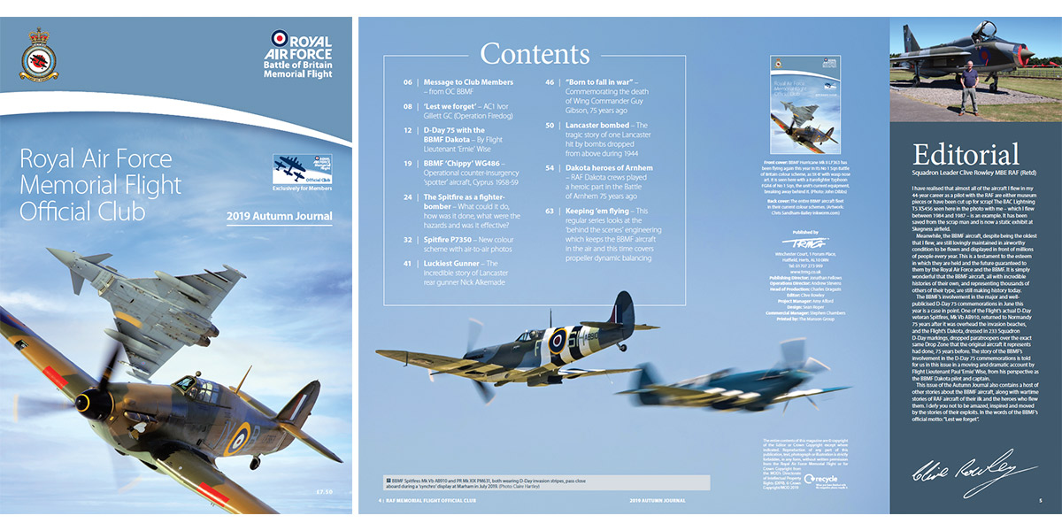 BBMF Autumn Journal 2019