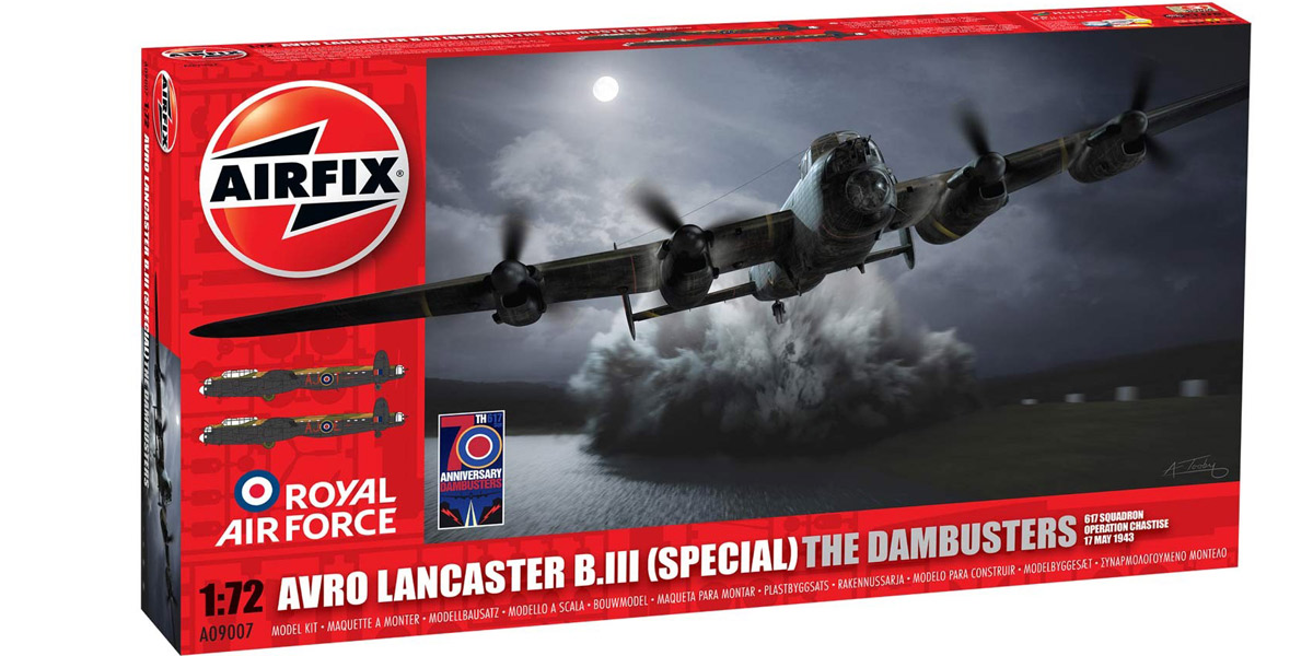 Avro Lancaster B.III (Special) The Dambusters 1:72 scale Airfix kit
