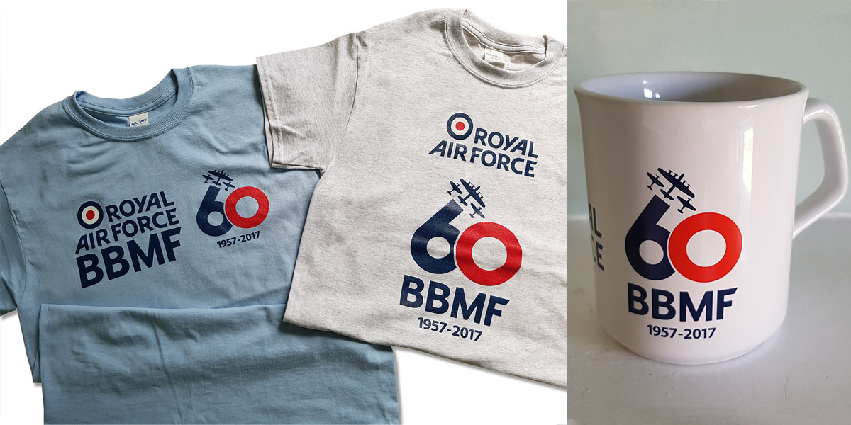 Win a BBMF 60th anniversary t-shirt and mug
