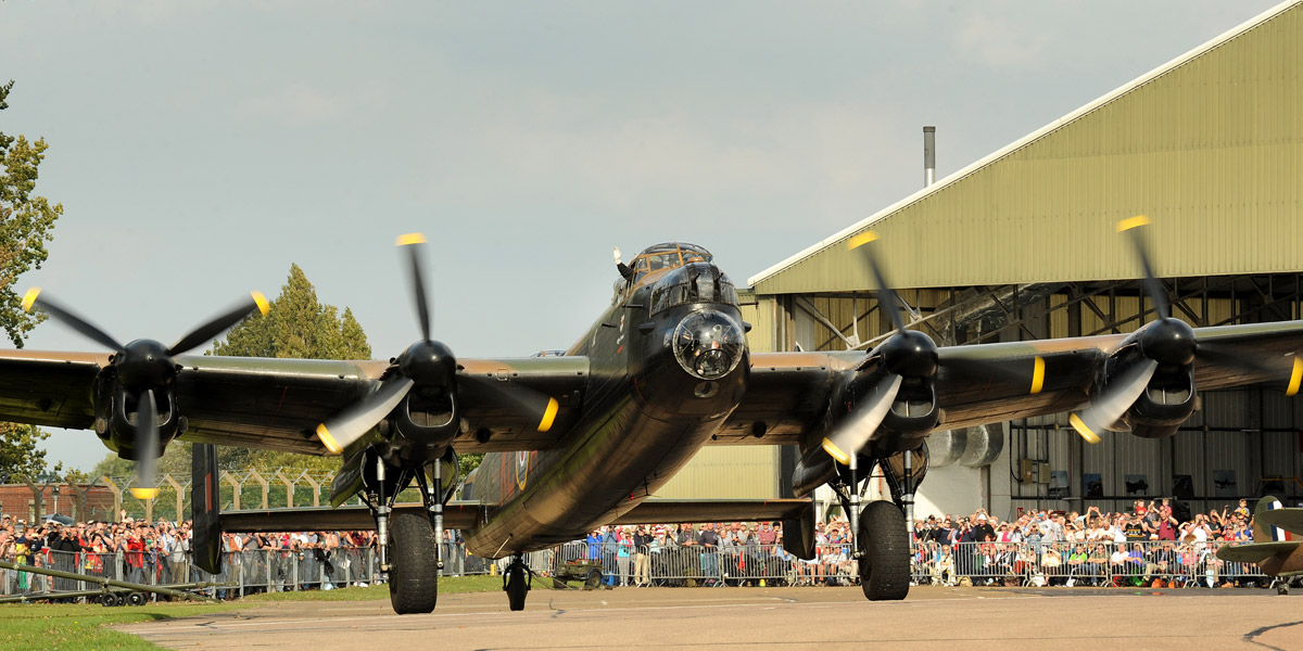 Win tickets to the BBMF Members' Day