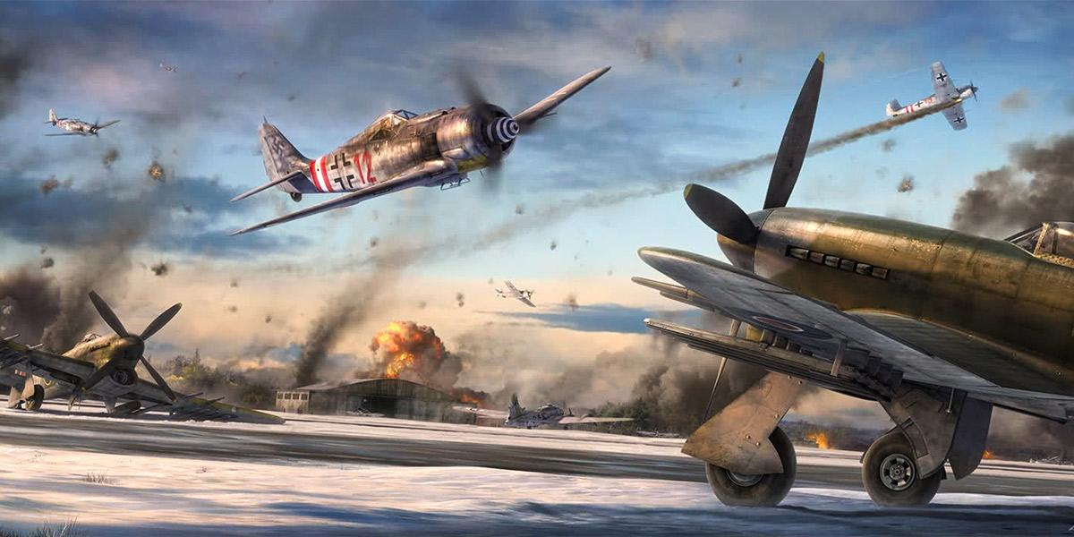 Focke-Wulf Fw 190s of I./JG 6