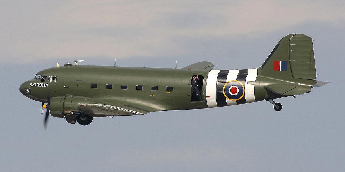 RAF BBMF C-47 Dakota ZA947
