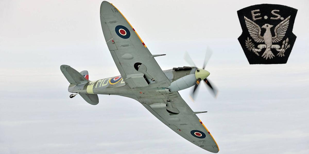 BBMF Spitfire Mk Vb AB910 served with 133 (Eagle) Sqn in 1942.