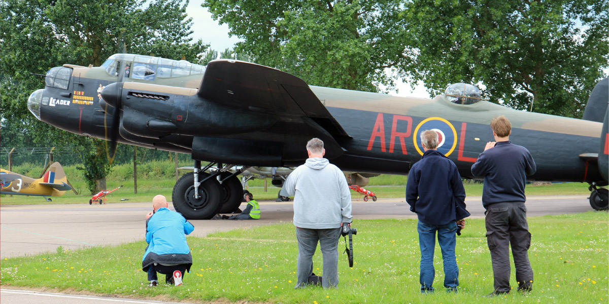Experience Day at the BBMF 2018
