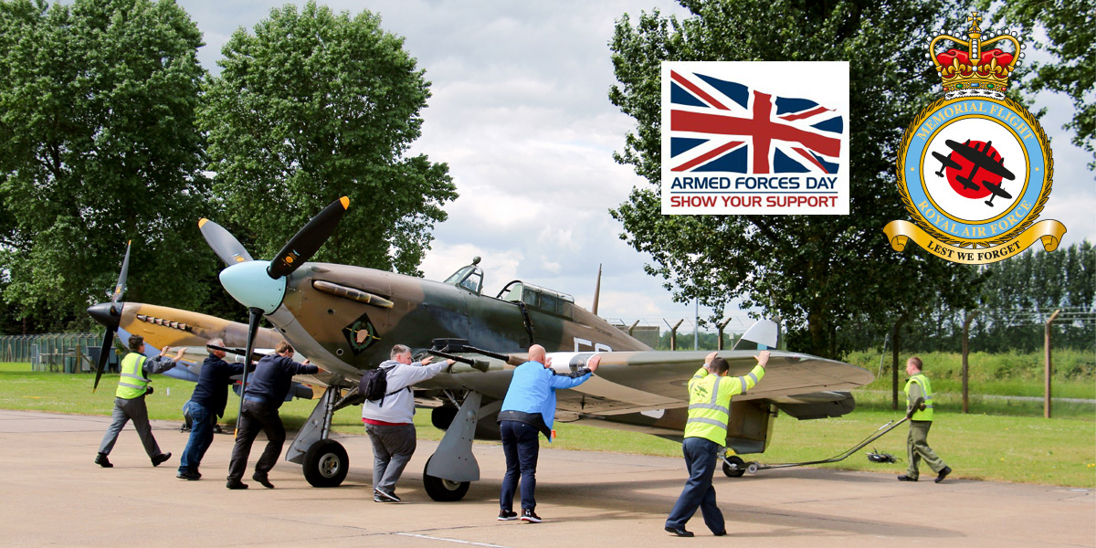 Win an exclusive experience at the BBMF