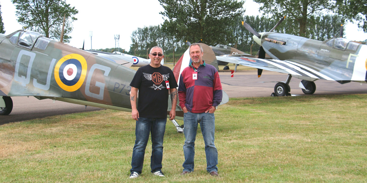RAF Memorial Flight Club Experience Day