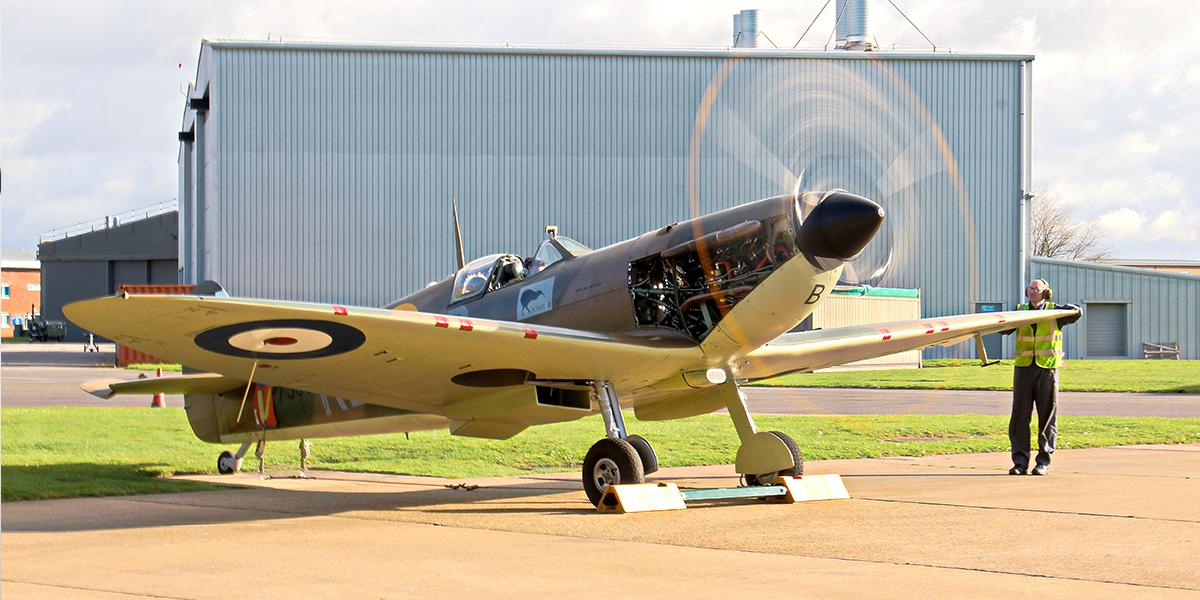 BBMF Spitfire Mk IIa P7350