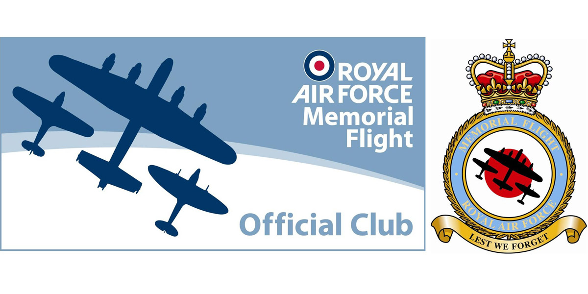 RAF Memorial Flight Club supports BBMF financially