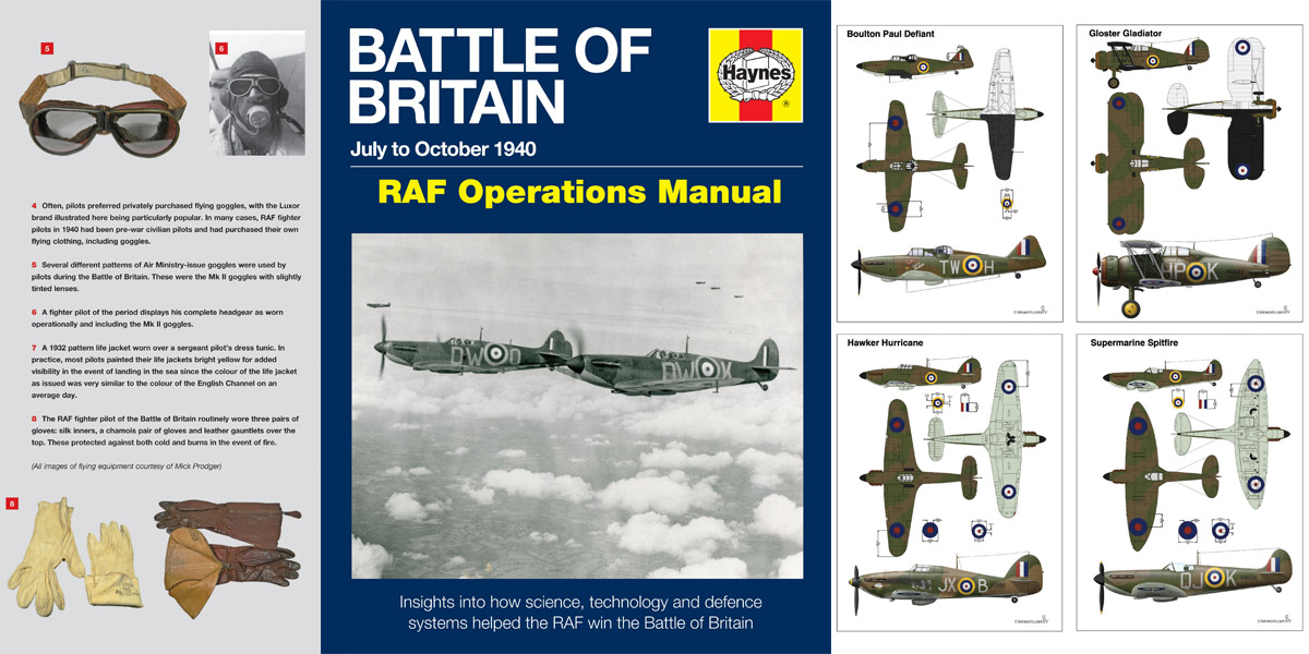 Win a Haynes Battle of Britain Manual