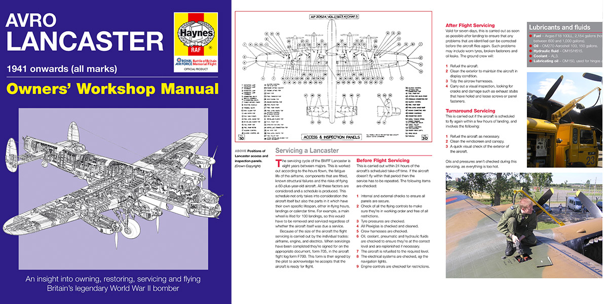 Haynes Manual for the Lancaster