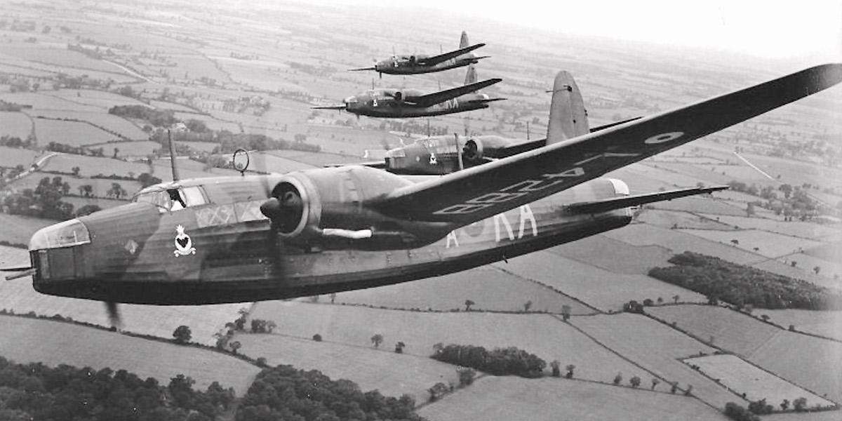 Vickers Wellington Mk 1 medium bombers