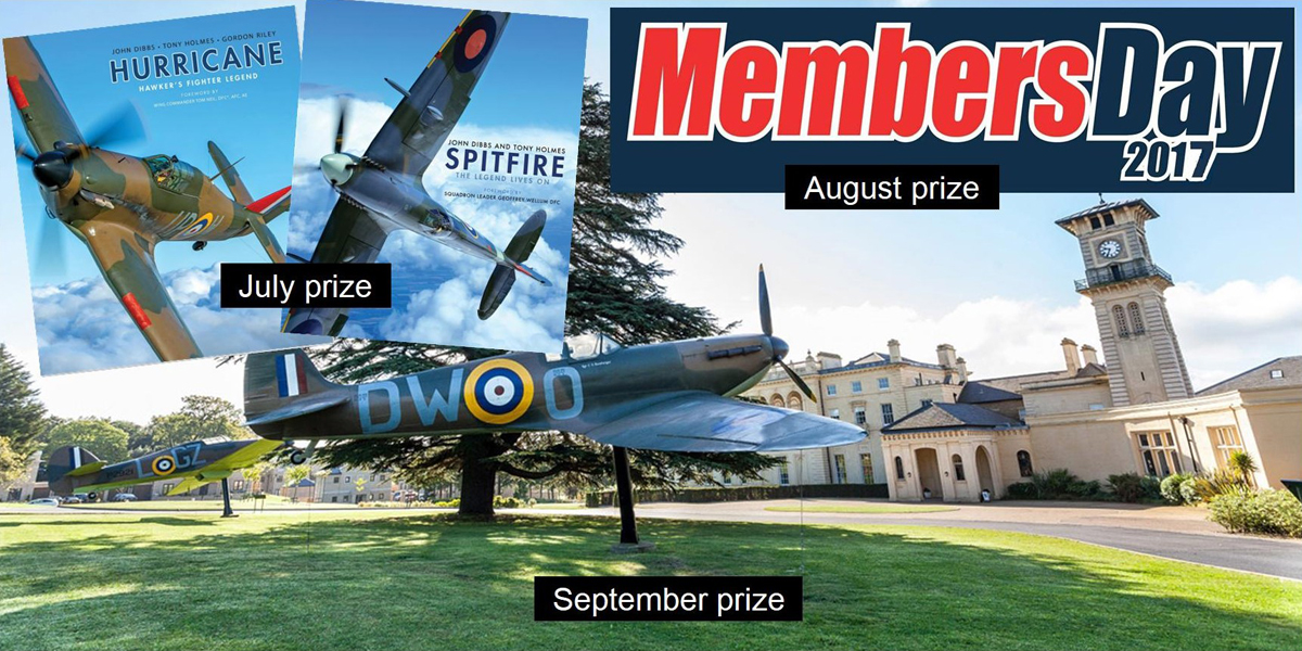BBMF ballot prizes July - September 2017