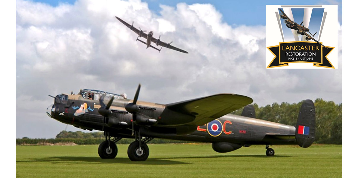 The Lincolnshire Aviation Heritage Centre has announced plans for work costing £250,000 on Lancaster NX611, 'Just Jane', during the 2016-17 winter period