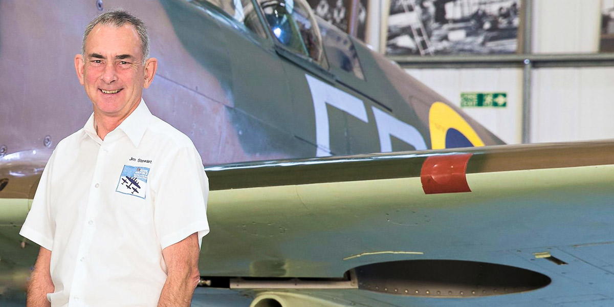 Jim Stewart BBMF