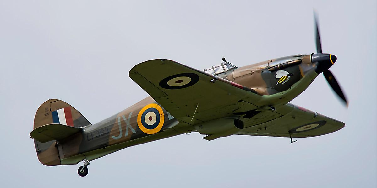 BBMF Hurricane Mk II LF363