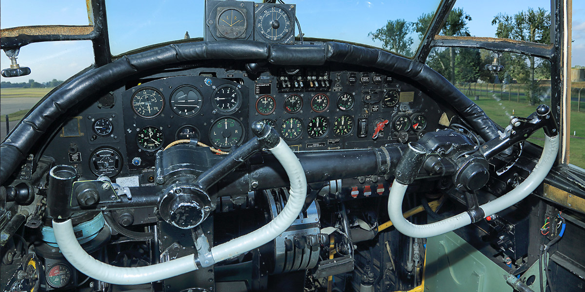 Win a tour of the inside of BBMF Lancaster PA474