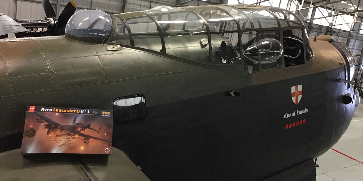 Lancaster scale model