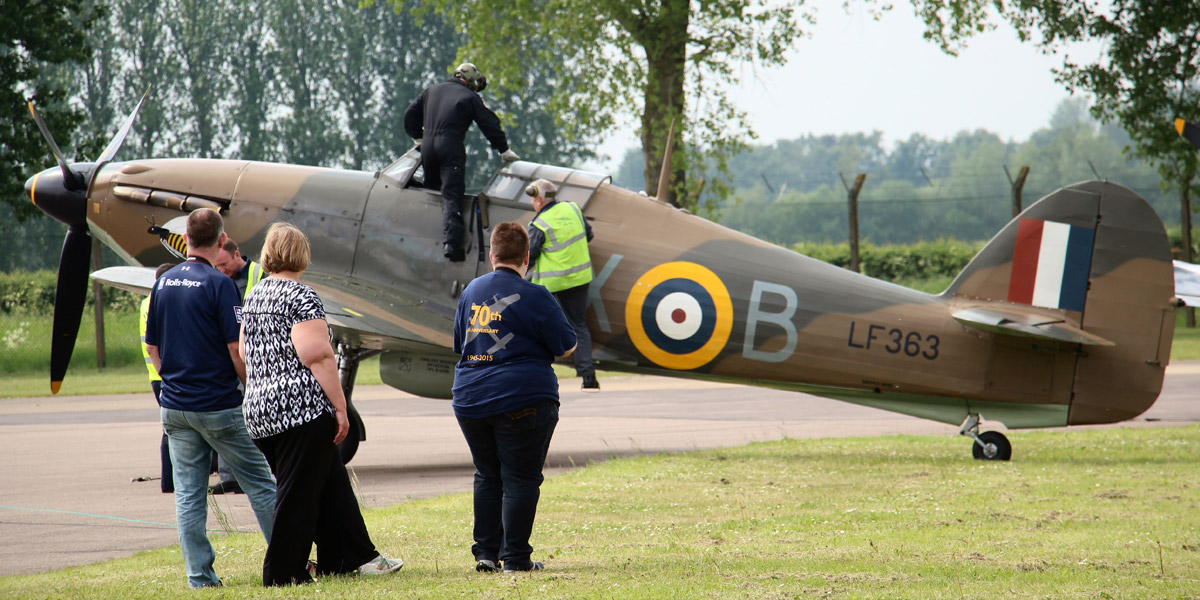 Win a fantastic Experience Day at the BBMF