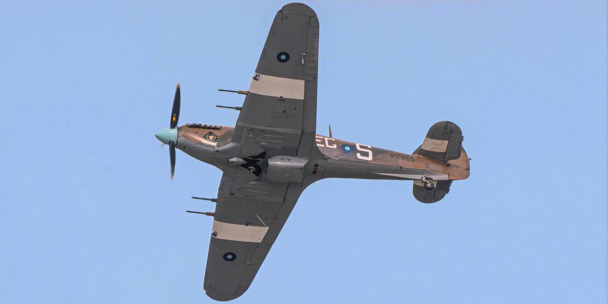 BBMF Hurricane Mk IIC PZ865