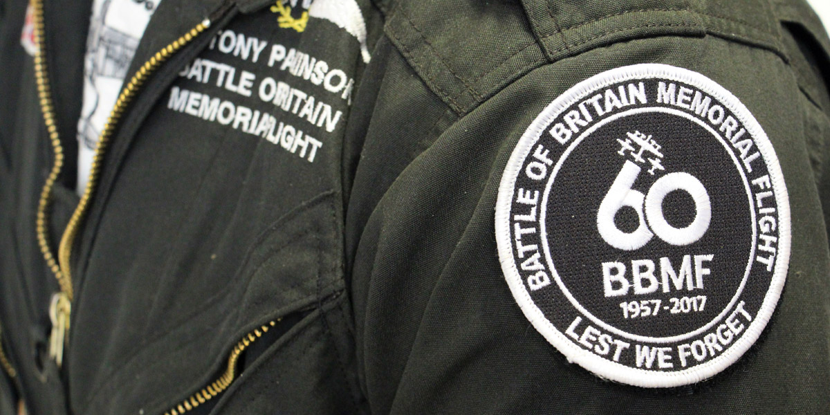 60th anniversary patch