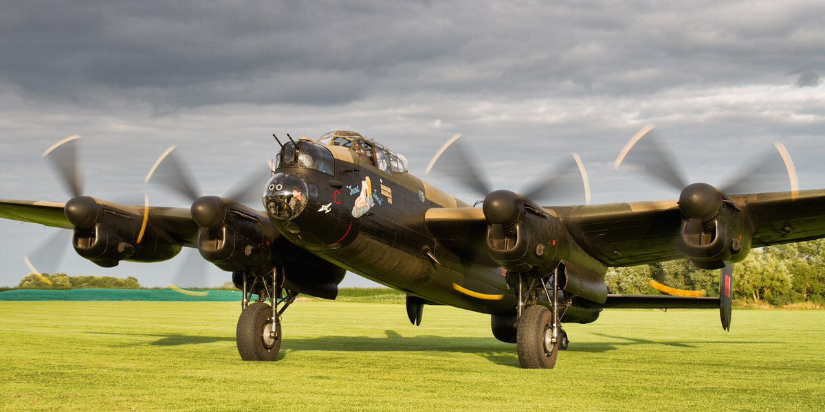 Win a tour on board Avro Lancaster NX611 'Just Jane'
