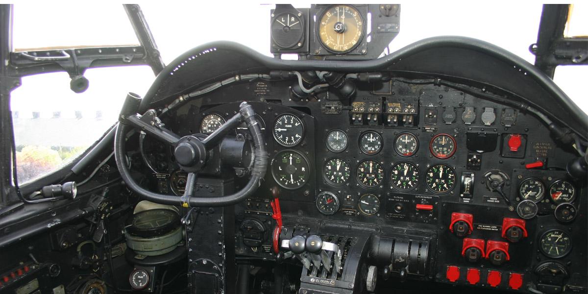Inside Avro Lancaster NX611 'Just Jane'
