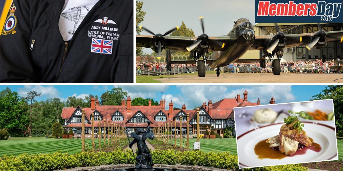 RAF Memorial Flight Club ballot prizes July to September 2016