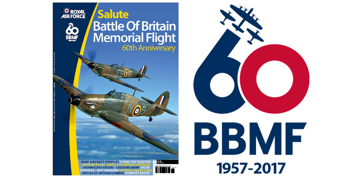RAF Salute BBMF 60th anniversary issue