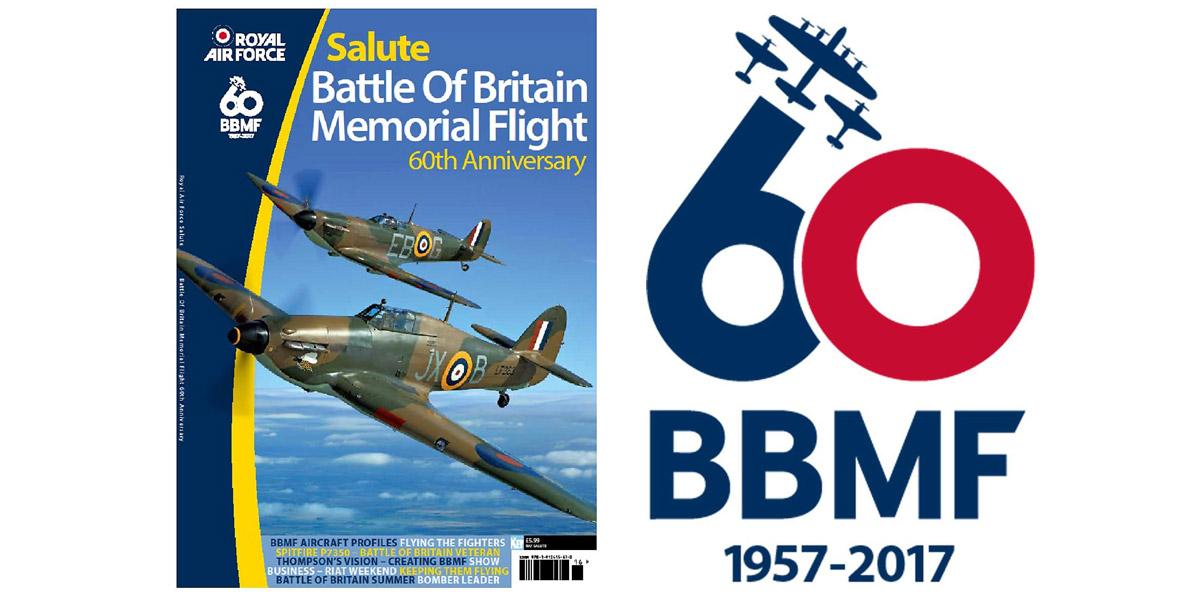 RAF Salute BBMF 60th anniversary issue