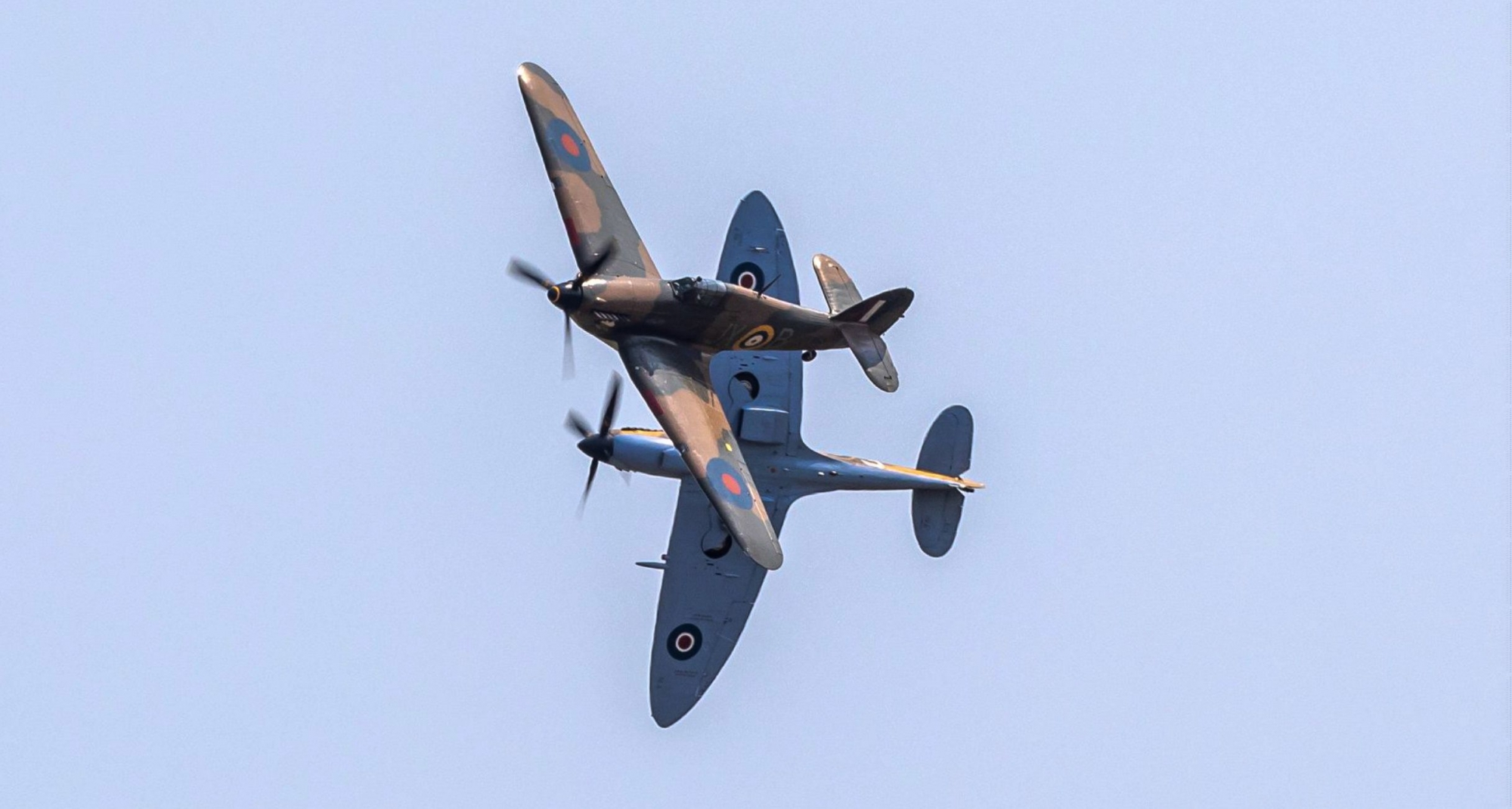 Spitfire and Hurricane practice June 2020