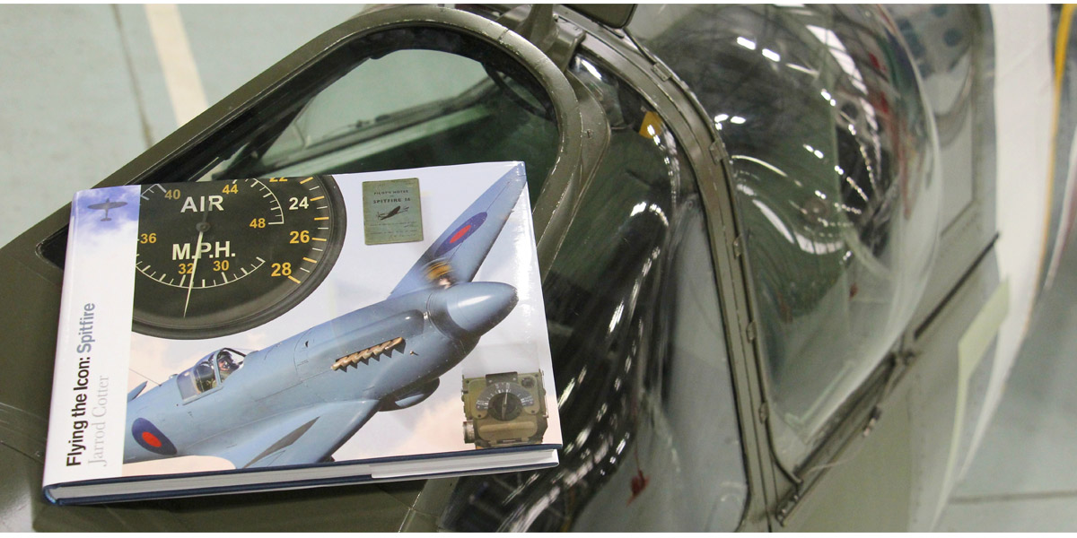 Win a copy of Flying the Icon: Spitfire by Jarrod Cotter