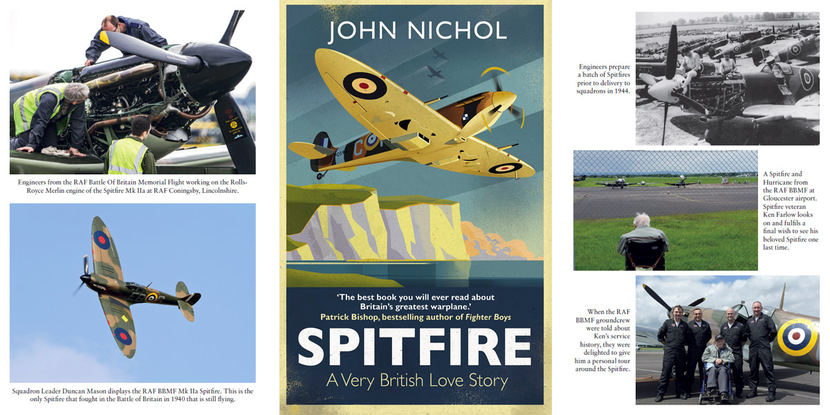 Spitfire: A Very British Love Story by John Nichol