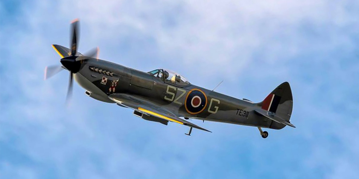 BBMF Spitfire Mk XVI TE311 in its current colour scheme